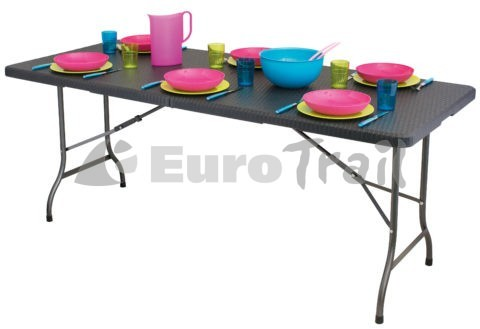 Eurotrail outdoor table ratan look