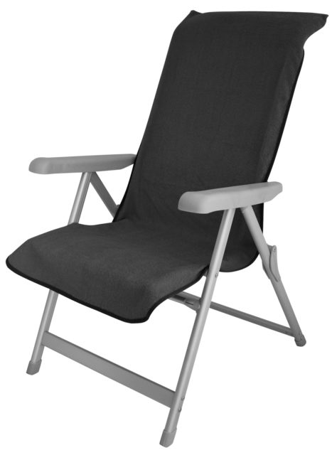 ETCF0976 Chair cover Cotton Charcoal