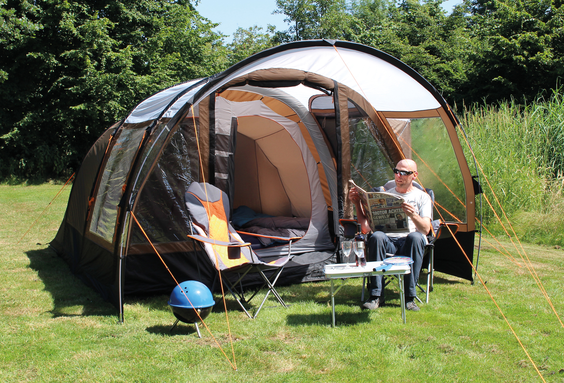 & Cambridge Air Tube tent - Eurotrail