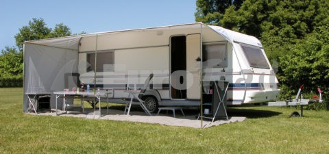 Eurotrail Caravan side wall awning