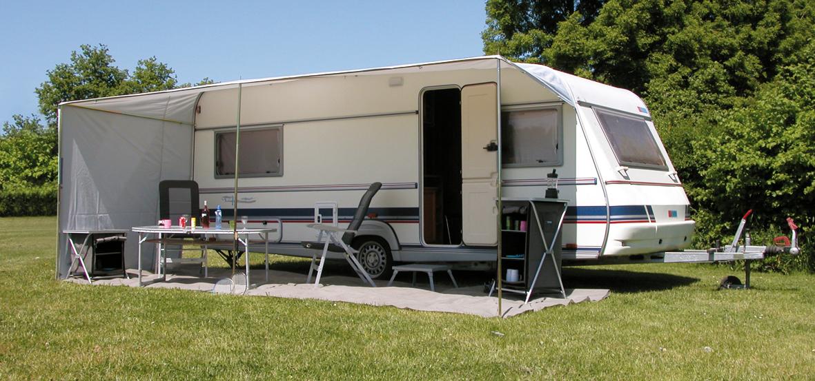 Caravan schuifluifel eurotrail for Toldos para caravanas