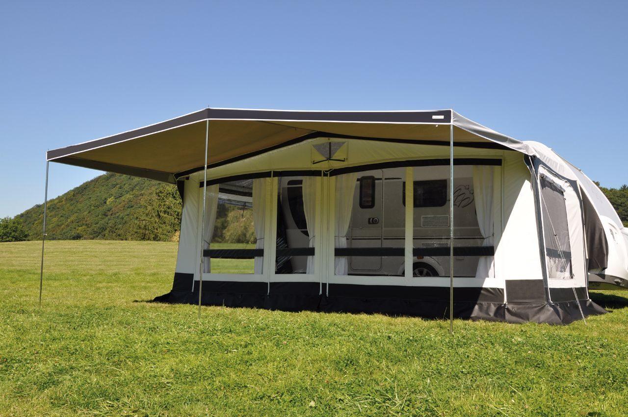 meer foto's beschikbaar top ontwerp Caravan - Tent combi luifel - Eurotrail