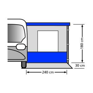 Eurotrail VW busluifel