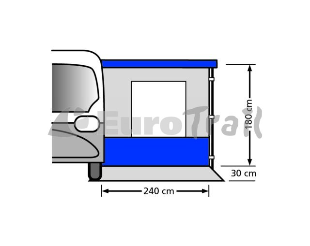 Eurotrail Van canopy