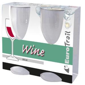 Eurotrail Wijnglas 265ml