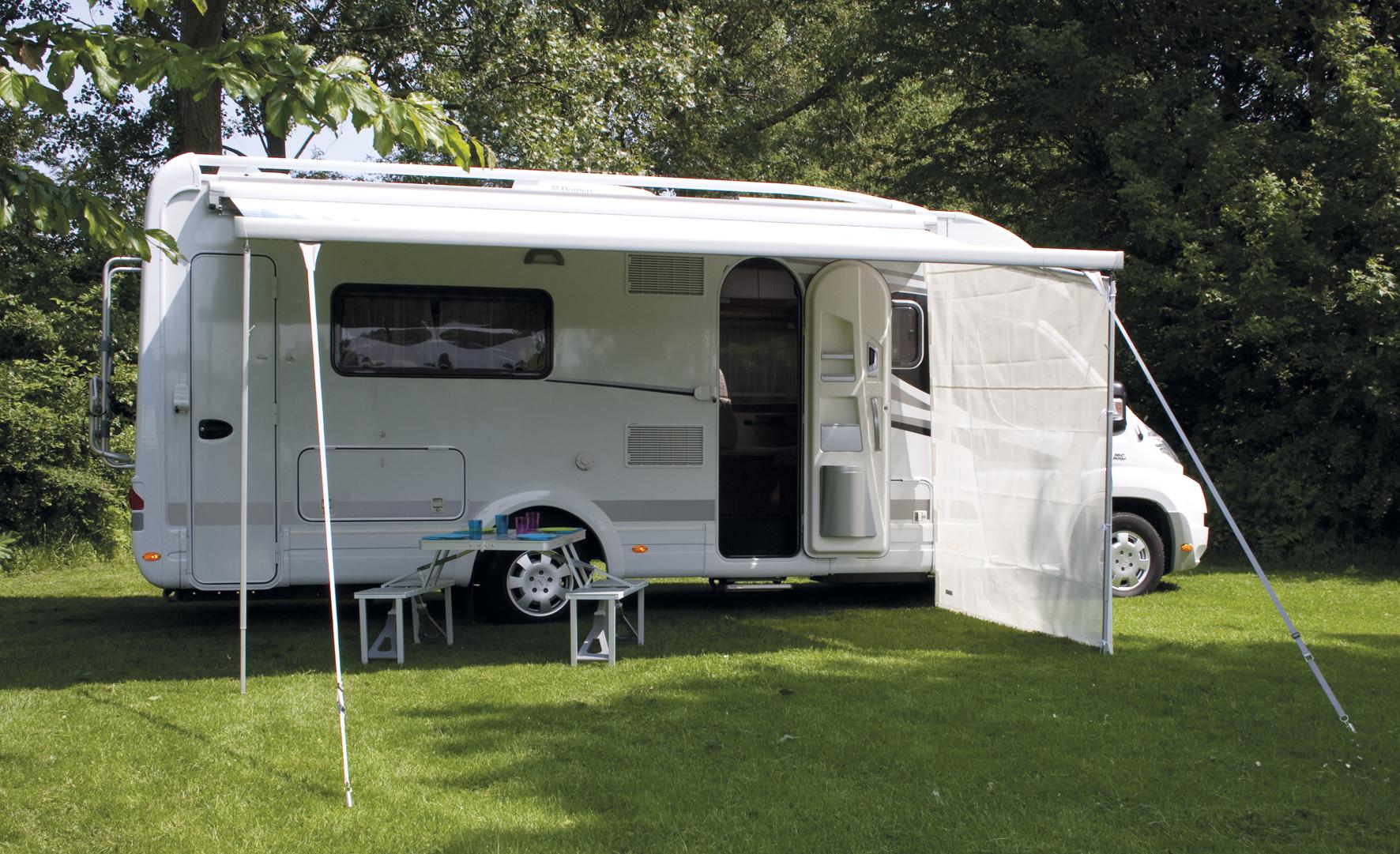 Stormafspanning luifel eurotrail for Luifel caravan aanbieding