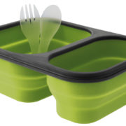 Eurotrail siliconen opvouwbare lunchbox
