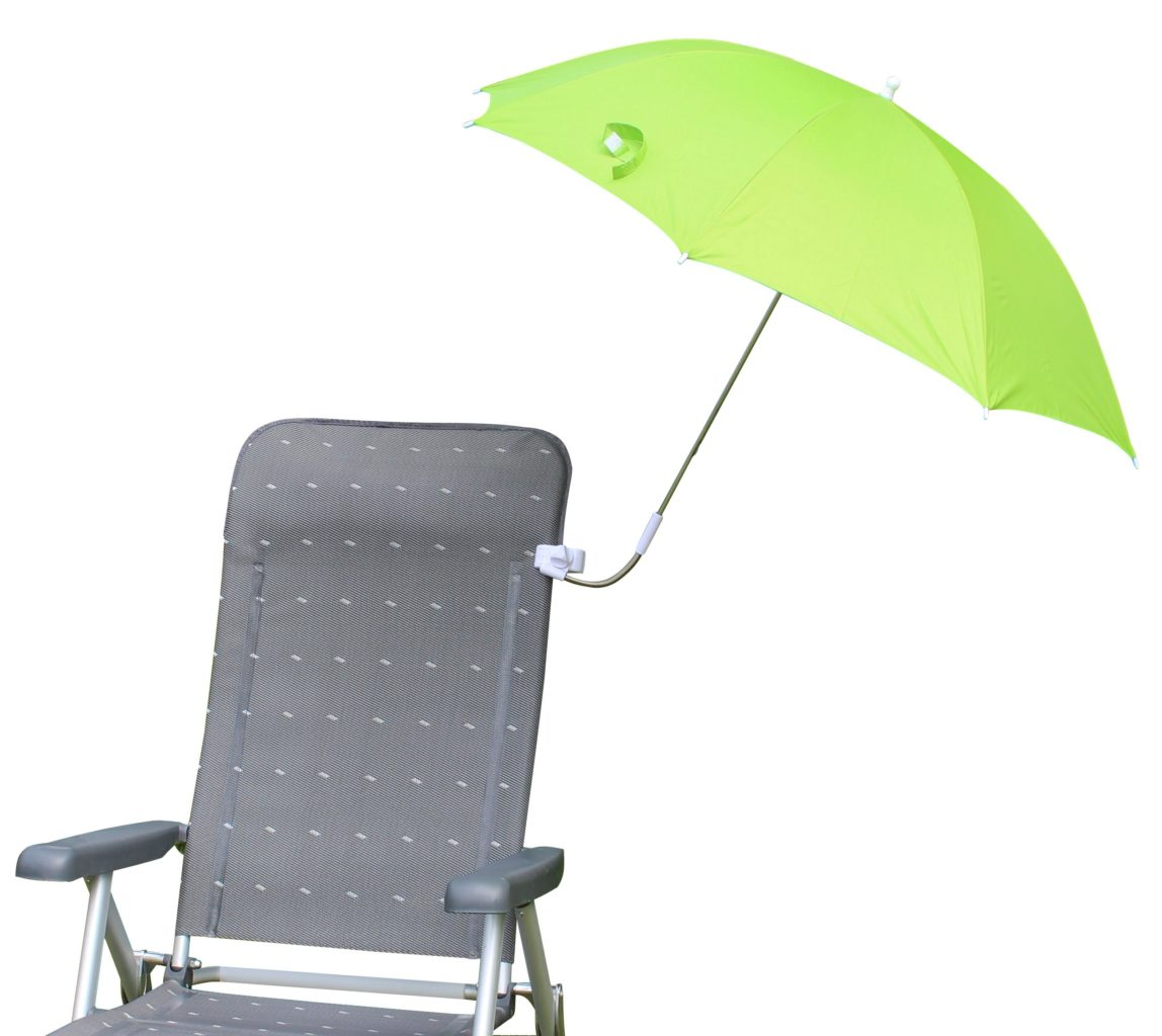umbrella product high hammacher clip on the packable schlemmer for chair