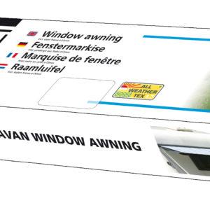 Eurotrail Window canopy caravan.