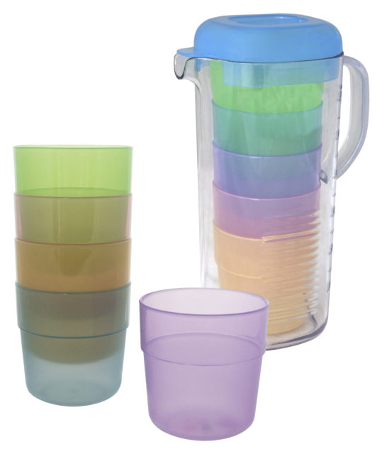Eurotrail lemonade can with cups