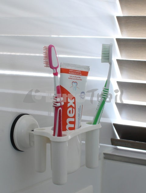 Eurotrail toothbrush holder