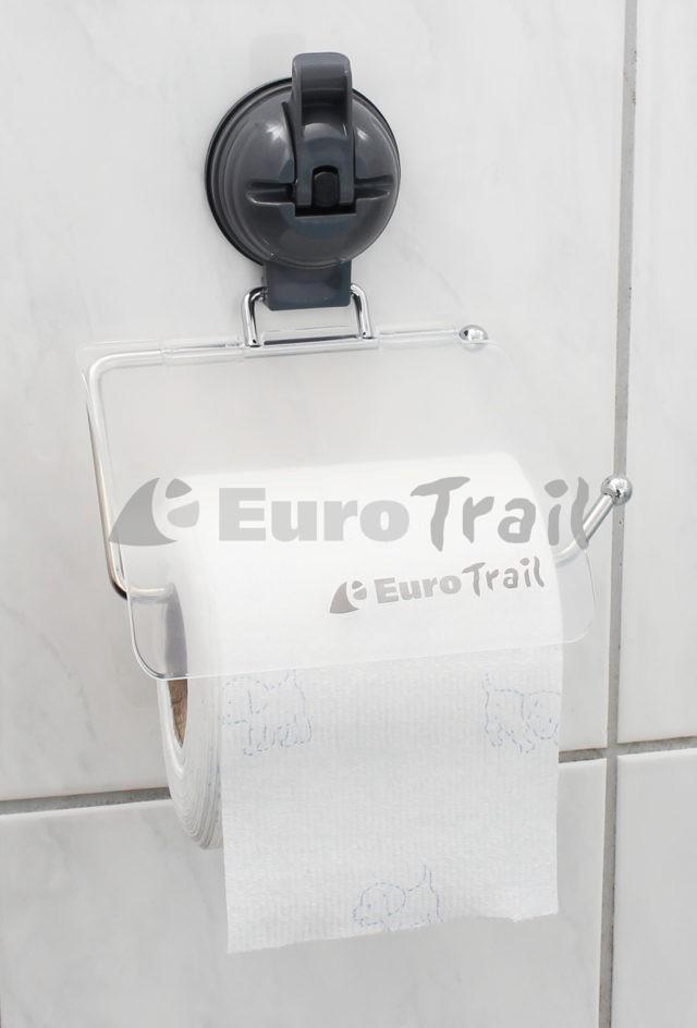 Eurotrail Toilettenpapierhalter mit Suagnapf