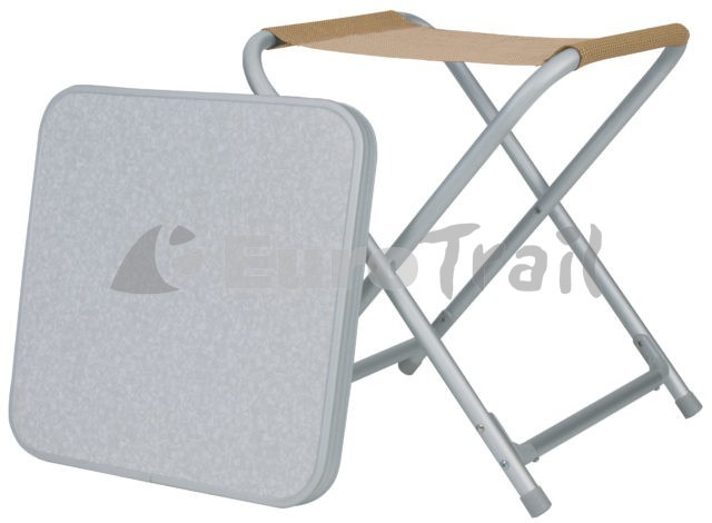 Eurotrail Stool with plate