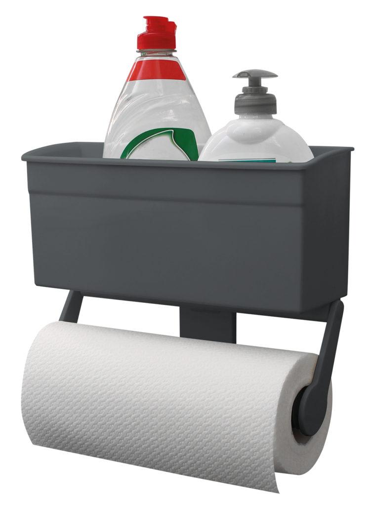 Eurotrail kitchen roll holder with storage box.