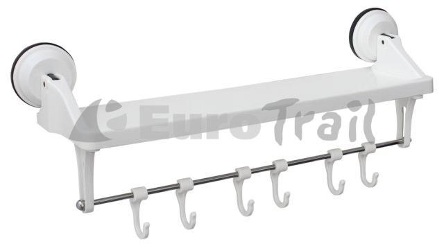 Eurotrail keukenplank met haken en zuignap