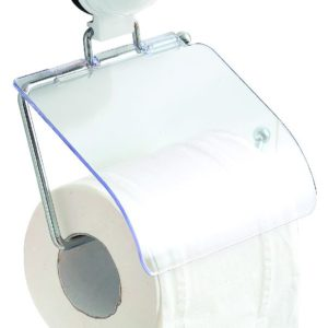 Eurotrail toiletrolhouder met zuignap.