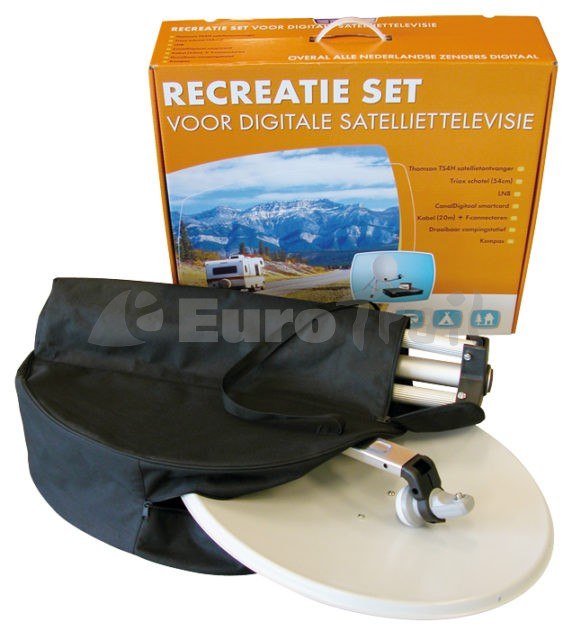 Eurotrail satellite dish bag