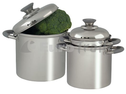 Eurotrail RVS Glasgow cookware set