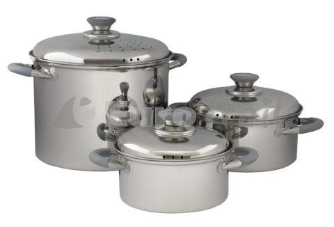 Eurotrail RVS Roma cookware set