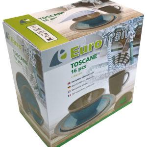 Eurotrail Toscane 16 dlg. tafelservies melamine