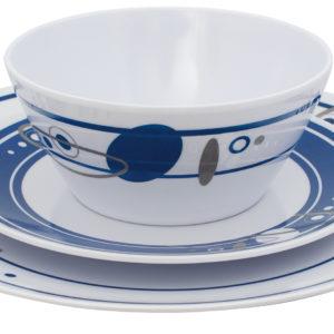 Eurotrail Saturn 16 Tlg. Melamine Tischgeschirr