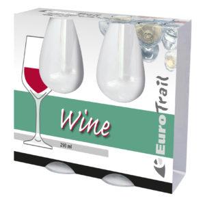 Eurotrail wine glass polycarbonte 290ml
