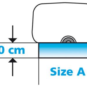 Eurotrail tochtstrook PVC